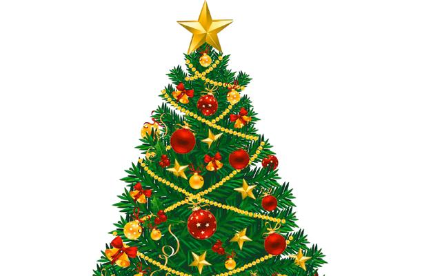 2 de diciembre, encendido del árbol navideño en Tulancingo