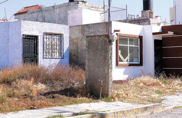 Vandalismo en casas abandonadas