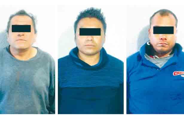 Capturan a 3 huachicoles en Tulantepec