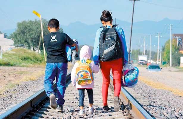 Migración infantil no acompañada,  riesgo latente