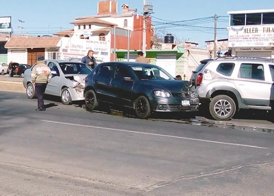 Racha de accidentes