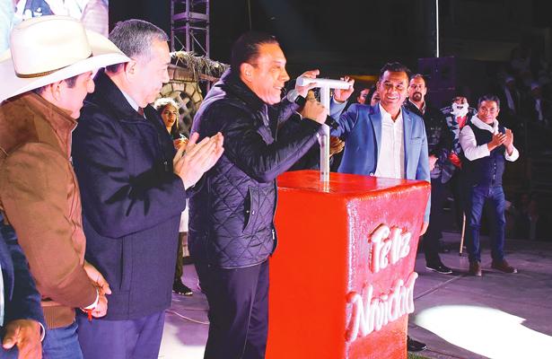 Noche de paz en Ixmiquilpan