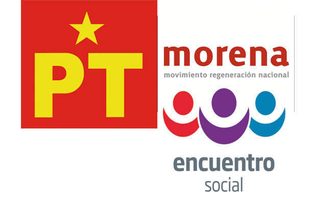 Alianza de Morena con PT y PES no tiene lógica