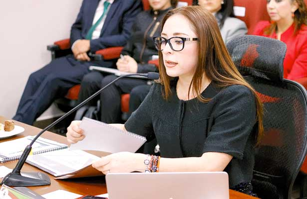 Compareció Jessica Blancas ante diputados locales