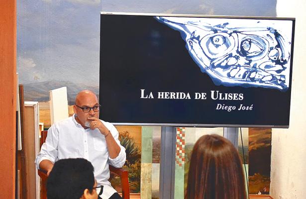Diego José presentará su libro La herida de Ulises