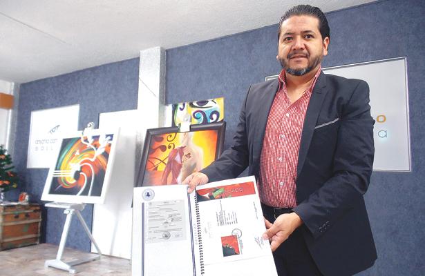 Pinturas de Antonio Contreras, a Suiza