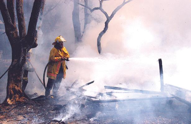 Más de 20 hectáreas dañadas por el fuego