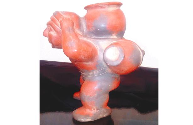El Aguador, pieza prehispánica