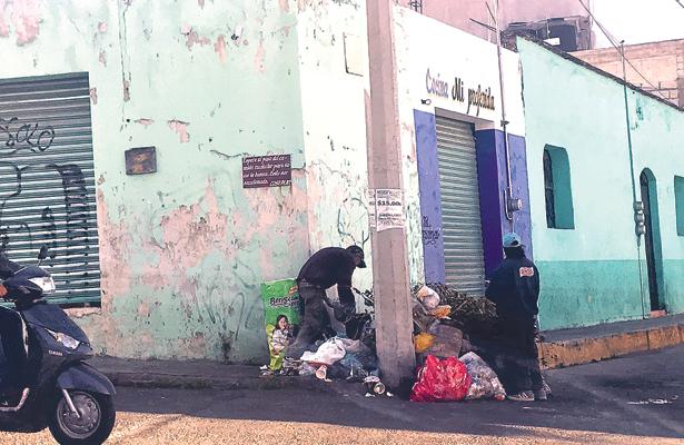 Ciento cincuenta trabajadores viven de colecta de basura