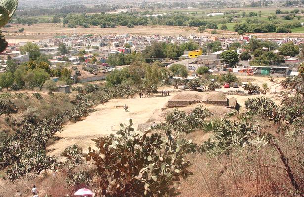 Mantenimiento al museo Huapalcalco