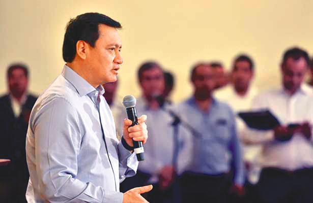 Osorio no sería el primero en lista pluri