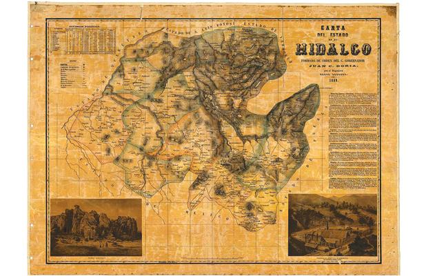 Erección del Estado de Hidalgo