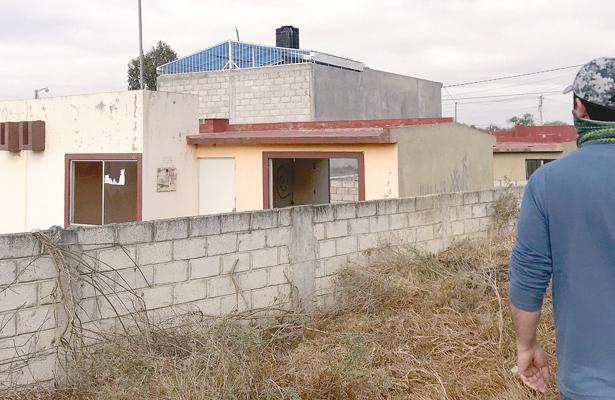 Abundan casas en el olvido en 4 sectores
