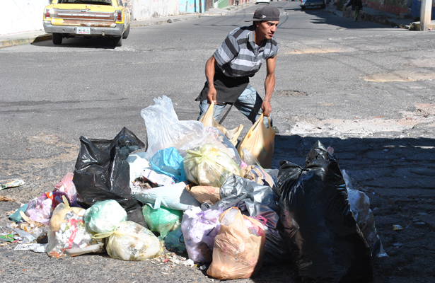 116 toneladas de basura son recolectadas a diario