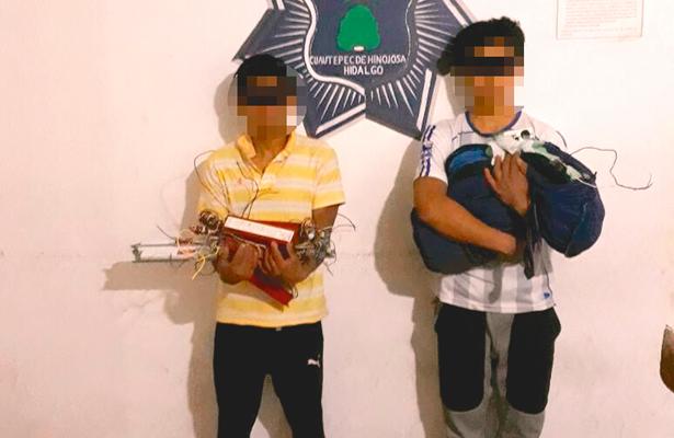 Robaron en tienda de autoservicio: presos