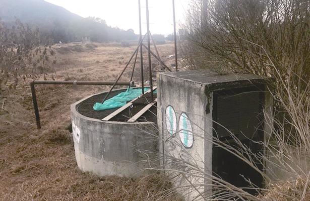 Solo opera una de seis tratadoras de agua