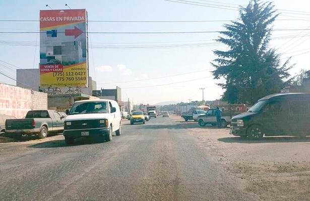 Pavimentarán vía La Joya-Santiago