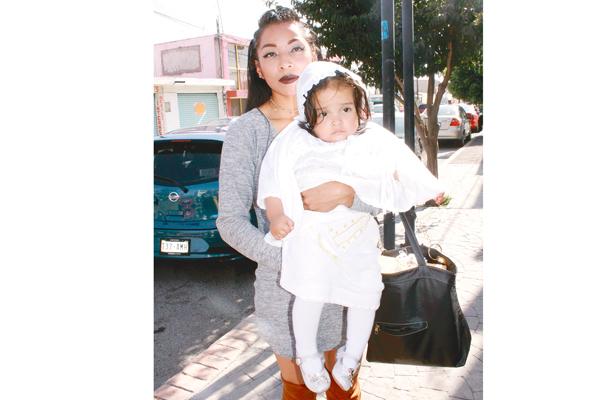Aranza Lizette fue bautizada