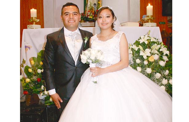 Unieron sus vidas en sagrado matrimonio