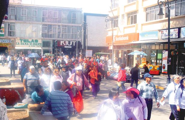 Maestros jubilados se reúnen en Tulancingo