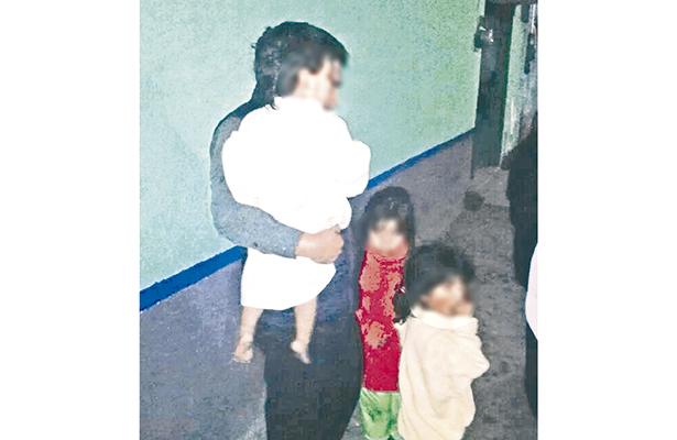 Hermanitos que corrieron peligro, entregados a su tía