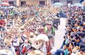 Caravanas  de disfraces alegraron, por varios días, a esta población serrana. Foto: Sol de Hidalgo.