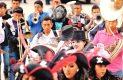 Los jóvenes participaron activamente conservando las costumbres y tradiciones de sus ancestros. Foto: Sol de Hidalgo.
