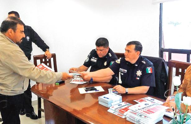 Autoridades y transportistas se reunieron