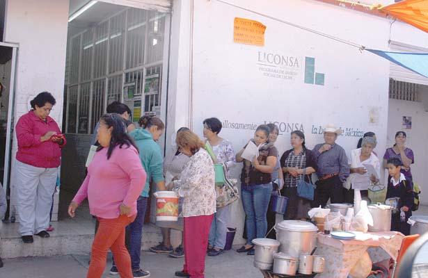 Crece padrón de familias beneficiadas por Liconsa