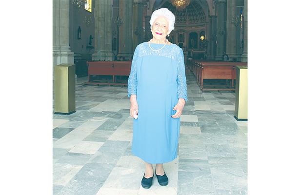 95 años de Antonieta Ángeles Díaz