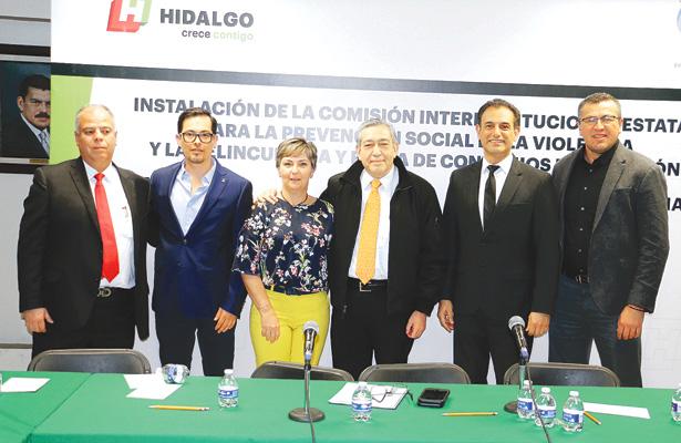Hidalgo recibe más de 300 millones de pesos, en materia de seguridad