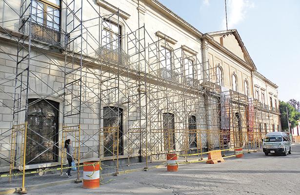 Invierten cinco millones de pesos para restaurar el Cuartel del Arte
