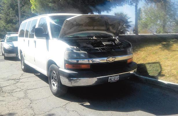 Roban camioneta a cliente de gasolinería