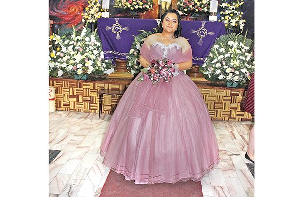 15 años de María José Rodríguez Olguín