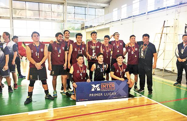 Politécnica de Tulancingo, primer lugar nacional en volibol