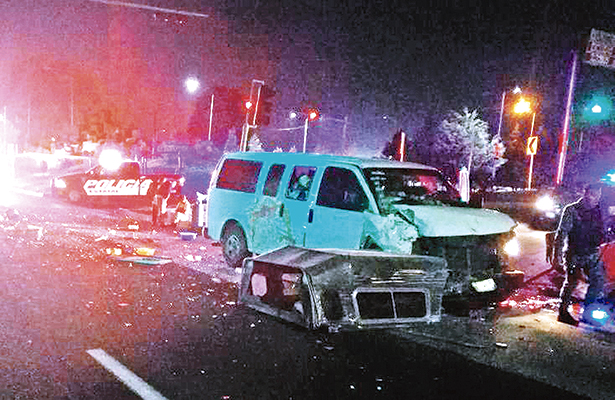 Cinco heridos abandonados a su suerte, responsable huyó