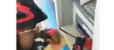 [Video] Alertan sobre manipulación de cajeros automáticos en Pachuca