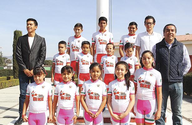 Metztitlán recibe a ciclistas