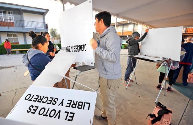 Instalarán casillas electorales en escuelas públicas
