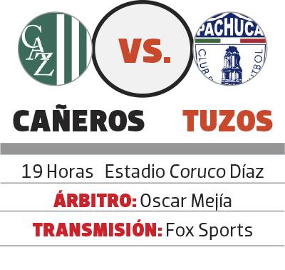 Esta noche se enfrentan los Tuzos y el Zacatepec