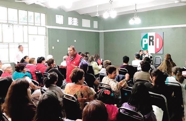 Aceita su estructura municipal el partido tricolor, en Pachuca