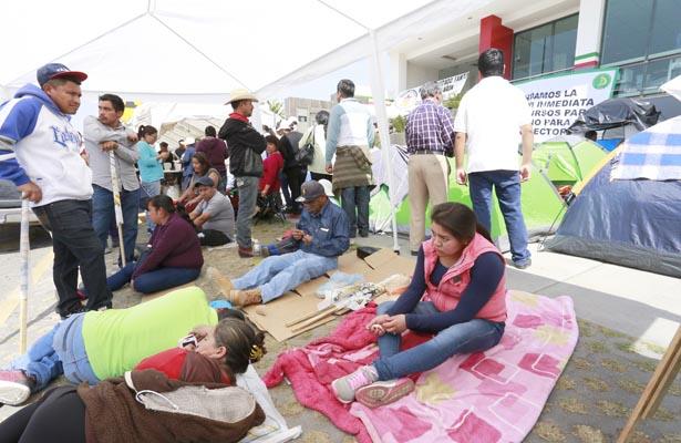 Campesinos exigen blindar los programas sociales