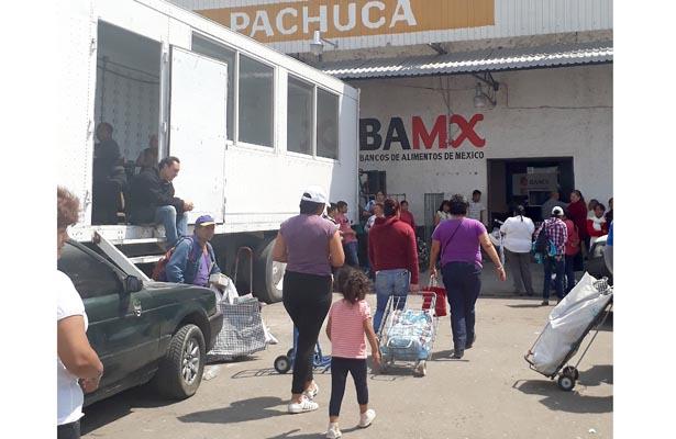 El Banco de Alimentos apoya a familias de bajos recursos