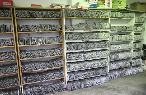 Más de 18 mil placas a resguardo