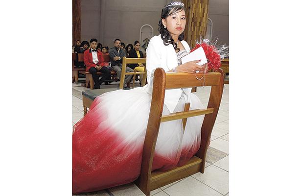 Cumplió quince años Lilian Escudero