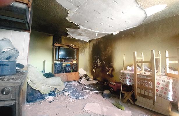 Incendio en la Aquiles Serdán provoca pánico entre vecinos