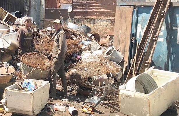 """Cerca de 50 toneladas de """"basura que sirve"""""""