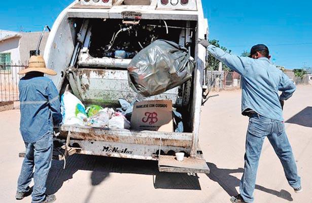 Abarcan más rutas en recolección de basura
