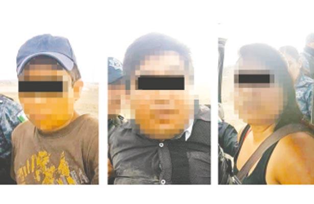 Capturan a 8 asaltantes de autobús