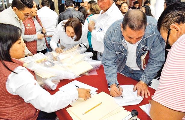Reelección de delegados en Santiago Tulantepec